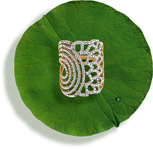 Tanishq Jewellery online-Niloufer collection-ring-7