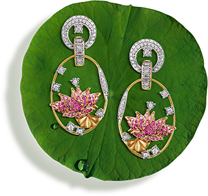 Tanishq Jewellery online-Niloufer collection-earring-2