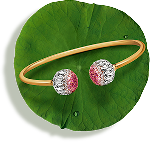 Tanishq Jewellery online-Niloufer collection-bangle-2