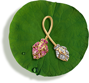 Tanishq Jewellery online-Niloufer collection-earring-5
