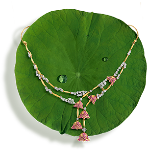 Tanishq Jewellery online-Niloufer collection-necklace-1