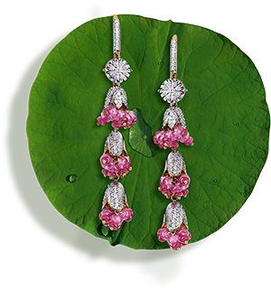 Tanishq Jewellery online-Niloufer collection-earring-7