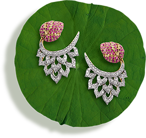 Tanishq Jewellery online-Niloufer collection-earring-4