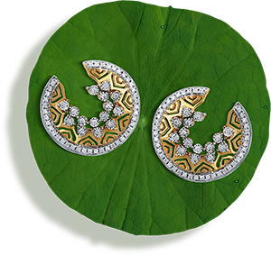 Tanishq Jewellery online-Niloufer collection-earring-10